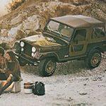 קיט מדבקות לג'יפ סיג'יי גולדן-איגל 1978