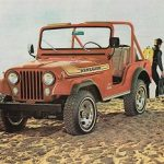 1976 Jeep CJ Renegade decal