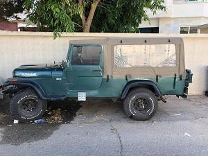 ג'יפ סיג'יי 8 ישראלי 1985