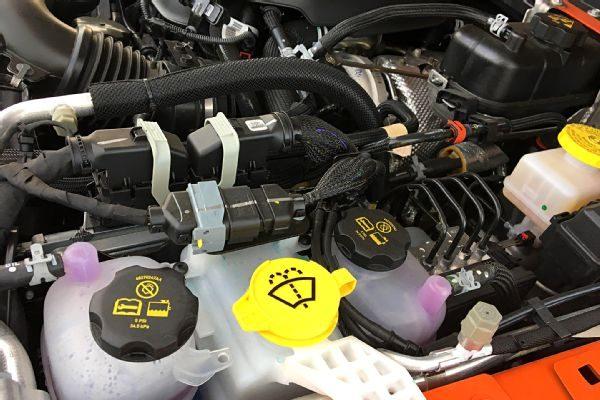 מנוע 2 ליטר טורבו גיפ רנגלר