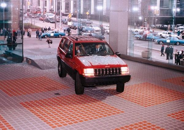 detroit auto show jeep grand cherokee 1992