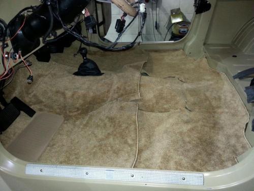שטיחים לג'יפ CJ