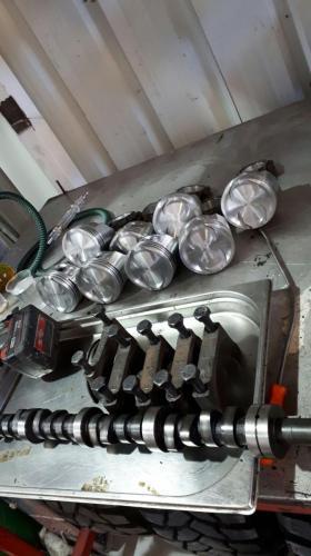 אוברול מנוע 304